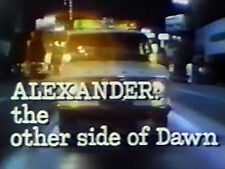 ALEXANDER:THE OTHER SIDE OF DAWN (DVD) - 1972 - Eve Plumb