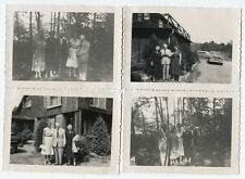 VINTAGE PHOTOS 1940-50 AMERICAN SLICE OF LIFE IMAGES. SCHOOL AND FAMILY TRIPS.