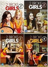 TWO BROKE GIRL COMPLETE SERIES 1 - 4 DVD Season 1 2 3 4 Collection New UK Rel R2