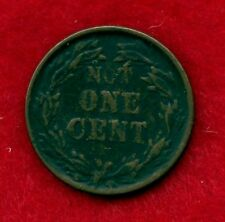 1863 Not One Cent  / Indian Head with 13 Stars USA Civil War Token