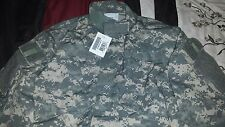 New Men's USGI Military Army Digital Camo Jacket / Coat BDU ACU 50/50 Rip Stop