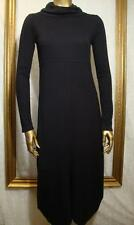Cop Copine Dress S  *Contemporary Trendy Darling* Jumper Style Maxi Knit BLACK