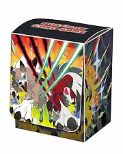 Japanese Pokemon Sun & Moon SM2 Lycanroc Deck Box