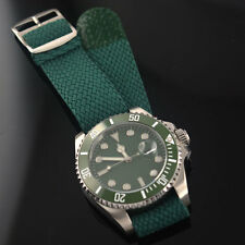 43mm Sterile Green Ceramic Bezel sapphire glass Automatic men'st Watch 651G