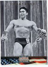 Tommy Kono WEIGHTLIFTING Heroes & Legends. Card No. 122. In Protective Sleeve.