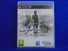 ps3 SYBERIA COLLECTION B.Sokal 3D Adventure Games Playstation PAL Region Free