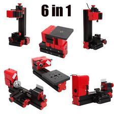 6 in1 multi metallo mini tornio legno Jig-Saw Grinder macchina del tornio tornio