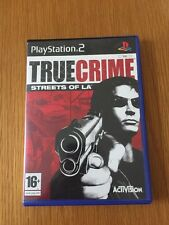 PLAYSTATON 2 TRUE CRIME STREETS OF LA