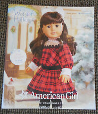AG American Girl Doll Catalog November 2014 Isabelle, Bitty Baby, Twins