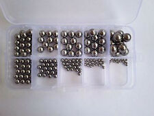 160 G10-grade stainless steel of wire ball bearing screw sets Assortment