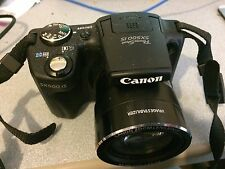 Canon PowerShot SX500 IS 16.0MP Digital Camera - Black (EX CONDITION)