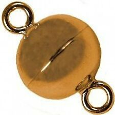 Ball - Magnetic Jewelry Clasps - Gold - Neodymium Rare Earth Magnet, Grade