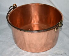 French vintage professional jam copper bowl