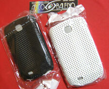 KIT 2X COVER MESH CASE per SAMSUNG GALAXY NEXT TURBO GT S5570 S5570I NERO BIANCO