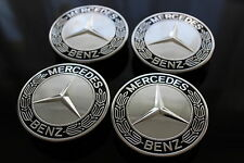 Original Mercedes Nabendeckel Radnabenabdeckung Radkappe Radnabendeckel schwarz