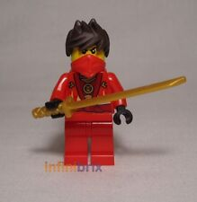 Lego Kai Rebooted Red Ninja from set 70721 Kai Fighter Ninjago BRAND NEW njo091