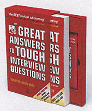 Great Answers to Tough Interview Questions (Book & Tape Slipcase Edition), Marti