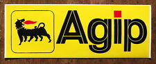 VINYL SELF ADHESIVE AGIP SIGN. 18x6.5cm
