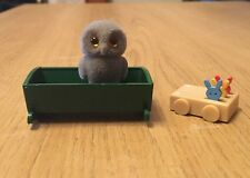 Sylvanian Families Baby Owl With Crib And Baby Walker