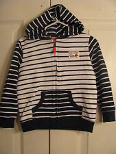 """CARTERS BABY Infant Boys STRIPED HOODIE """"BIG SURF-LITTLE DUDE"""" SZ 24 MONTHS"""