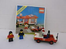 Lego Emergency Vehicle from kit  #6364  2 figures and Instruction book no House