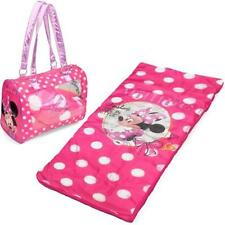 Disney Minnie Mouse Toddler Sleepover Set/Nap Mat With Duffle NEW