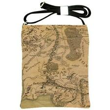 Map Of Middle Earth Realm Lord Of The Rings Cross Body Bag Large Satchel