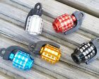 2 x GRENADE ALLOY VALVE CAPS DUST COVERS BIKE BICYCLE MTB BMX CAR TYRE SCHRADER