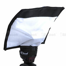 New Foldable Reflector/Reflective Speedlight Snoot/Closed Flash Softbox Diffuser