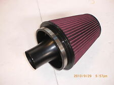 COSWORTH Group 'A' cone filter with satin blk 102mm alloy trumpet fits GTTURBOS