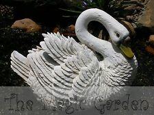 Large swan goose garden ornament cement concrete plaster latex molds moulds