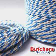 Light Blue White Bakers Butchers Catering String / Twine 300 Metres