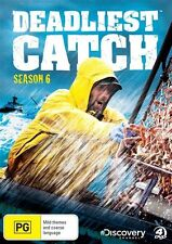 Deadliest Catch : Season 6 (DVD, 2011, 4-Disc Set)  Brand New!!!