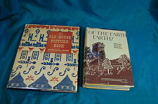 2 first editions Marion Nicholl Rawson Of the Earth Earthy & Old House Picture