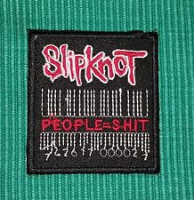 SLIPKNOT PEOPLE=S-HIT Band Music Iron/ Sew-on Embroidered Patch / Badge/ Logo
