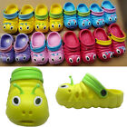 GIRLS BOYS KIDS UNISEX INFANTS CATERPILLAR SUMMER BEACH SANDALS FLIP FLOPS SHOES