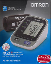OMRON M 500 Modell 2014 - autom. Oberarm-Blutdruckmessgerät - neu&OVP v. med. FH