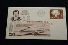 SPACE COVER 1977 MACHINE CANCEL F-8 DFBW SHUTTLE SYSTEM COMPUTER FLIGHT #4 (2058