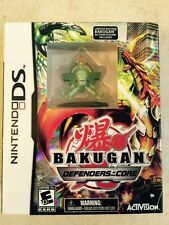 NINTENDO DS BAKUGAN DEFENDERS OF CORE NEW GAME & LIMITED FIGURE  EL CONDOR