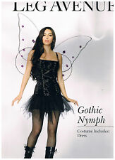 LEG AVENUE HALLOWEEN COSTUME  GOTHIC NYMPH SIZE S/M  NEW
