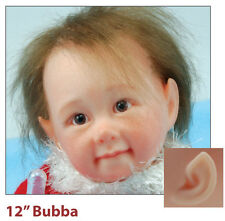 Reborn Doll 12 inch  Bubba Complete unpainted unassembled doll kit.