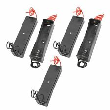 10pcs Plastic 18650 Battery Storage Case Box Holder with Wire Lead Hot Sale