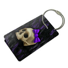 Girlie Punk Skull Suitcase Bag ID Luggage Tag Set