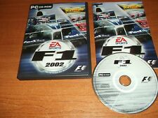 F1 2002  EA SPORTS  -   PC-CD  FAST POST