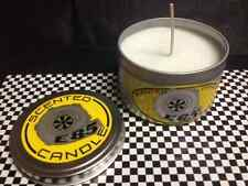 Ethanol E 85 Fuel Scented Candle Drag Strip Track Race Truck Gas Street Man Cave