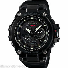 100% AUTHENTIC CASIO G-SHOCK BLACK ION PLATED MEN'S WATCH MTGS1000BD-1