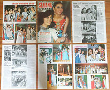 MISS EUROPE 1969 Beauty Contest Semana Spain clippings Sasa Zajc world