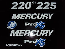 Mercury  Optimax ProXS 225 200 hp Outboard Engine Decal    Marine Vinyl kit