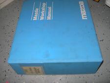 2000 Mazda MX-5 MX5 Miata Service Manual shop repair WORKSHOP
