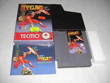 Rygar NES Spiel komplett mit OVP und Anleitung